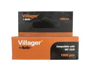 Hřebíky dosponkovačky ahřebíkovačky VILLAGER FUSE VAT 3520, 20 mm