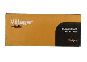 Hřebíky dosponkovačky ahřebíkovačky VILLAGER F-20 (20 mm)